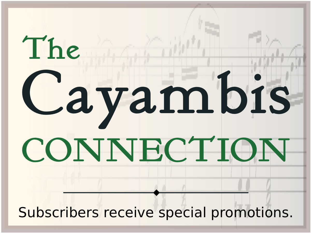 Cayambis Connection Signup Button