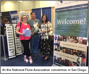 At the NFA Convention